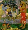 Gauguin We hail thee Mary, 1891, 113 7x87 7 cm, Metropolitan