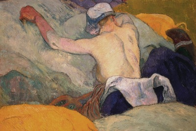 woman in the hay, gauguin, 1888 1600x1200 id