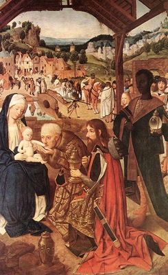 Geertgen tot Sint Jans Adoration of the magi, 148 85, Narodn