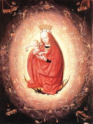 Geertgen tot Sint Jans Virgin and child, 1480s, Museum Boym