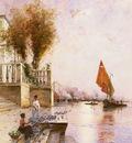Gegerfelt Wilhelm Von A Venetian Canal