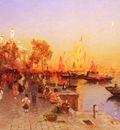 Gegerfelt Wilhelm von An Italian Port
