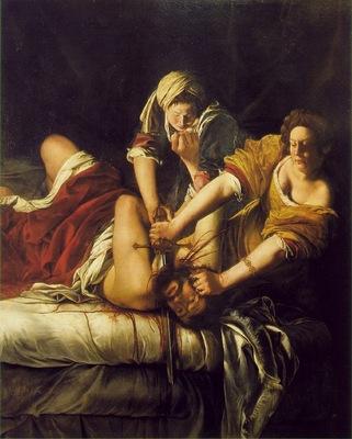 gentileschi,a  judith beheading holofernes, 1620, 199x162