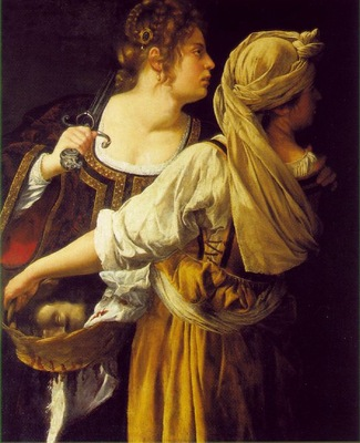 Gentileschi,A  Judith and her maidservant, ca 1612 13, 114x9