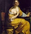 Gentileschi,A  Mary Magdalen, ca 1613 20, 146 5x108 cm, Gall