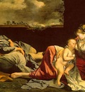 Gentileschi,O  Rest on the Flight into Egypt, 1628, canvas,