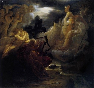 GERARD Francois Ossian Awakening The Spirits On The Banks
