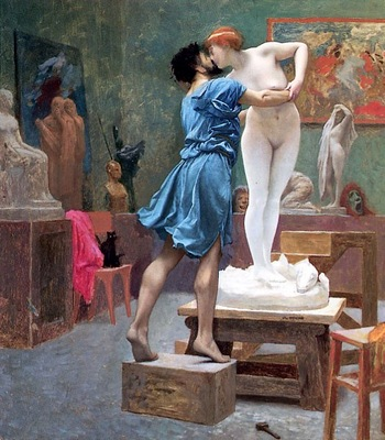 Gerome, Jean Leon Pygmalion and Galatea end