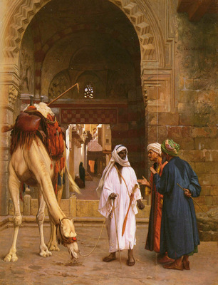 Gerome Jean Leon Dispute D Arabes