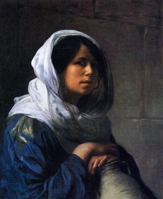 Gerome Jean Leon Egyptian Water Carrier