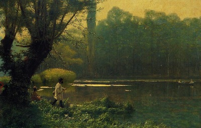 Gerome Jean Leon Summer Afternoon on a Lake
