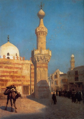 Gerome Jean Leon View of Cairo undated