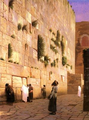 Greome Jean Leon Solomons Wall Jerusalem