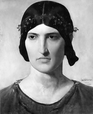 Portrait of a Roman woman