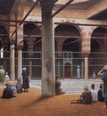 gerome interior of a mosque