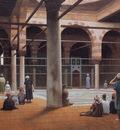 gerome interior of a mosque