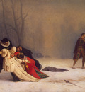gerome jean leon duel after a masked ball