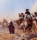 Gerome Jean Leon Napoleon and His General Staff