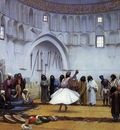 Gerome Jean Leon Whirling Dervishes