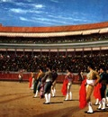 Plaza de Toros The Entry of the Bull