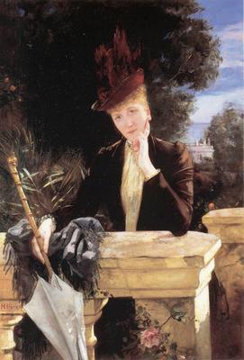 Gervex A Portrait of Marie Clotilde de Faret