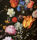 Gheijn de Jacques II Flowers in vase detail Sun