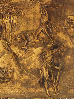 Ghiberti Lorenzo Cain and Abel The Killing of Abel