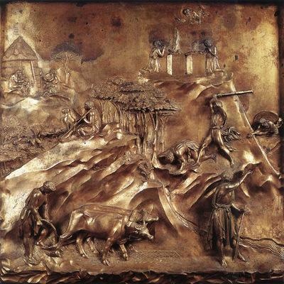 Ghiberti Lorenzo Cain and Abel