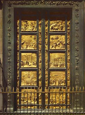 Ghiberti Lorenzo Eastern Door of the Baptistry