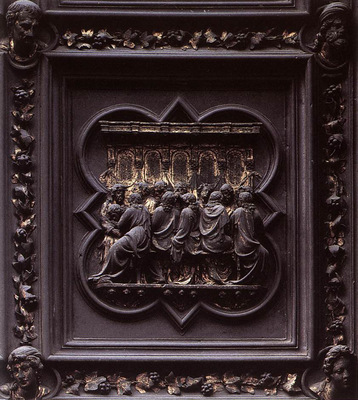 Ghiberti Lorenzo Last Supper