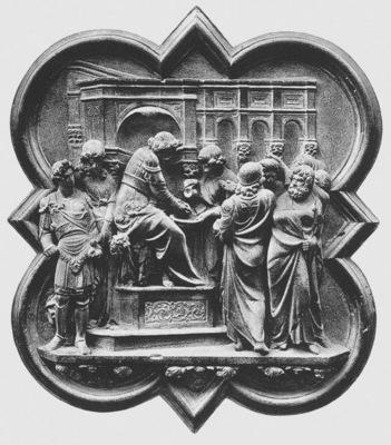 Ghiberti Lorenzo Pilate Washing His Hands