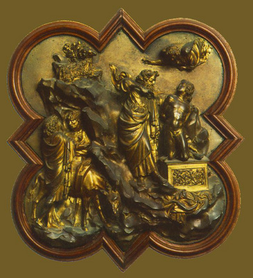 ghiberti lorenzo sacrifice of isaac