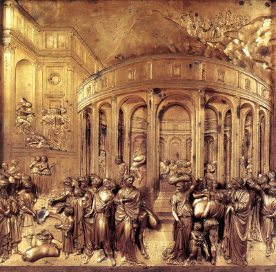 Ghiberti Lorenzo The Story of Joseph panel from the eastern door