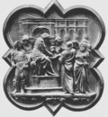 Ghiberti Lorenzo Pilate Washing His Hands