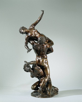Giambologna The Rape of the Sabine Women