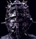 H R Giger 1993 WATCHGUARDIAN HEAD 5 iron, aluminium 221x50x50cm No WA68