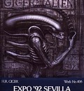 Poster Alien Exhibition