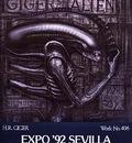 Poster Alien Exhibition
