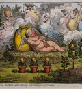 Gillray James The Orangerie Sun