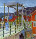 Gilman Harold Canal bridge Flekkefjord Sun