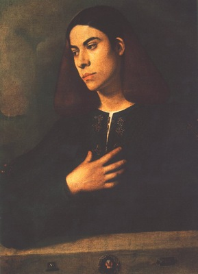 Giorgione Portrait of a Youth Antonio Broccardo , Budapest