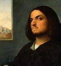 giorgione and tiziano portrait of a venetian gentleman, c