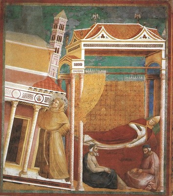 Giotto Legend of St Francis [06] Dream of Innocent III