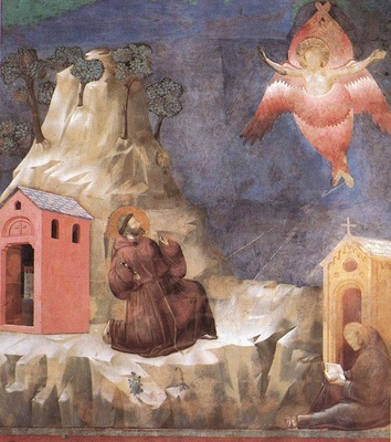 Giotto Legend of St Francis [19] Stigmatization of St Francis