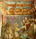 Giotto Legend of St Francis [07] Confirmation of the Rule