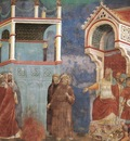 Giotto Legend of St Francis [11] St Francis before the Sultan Trial by Fire