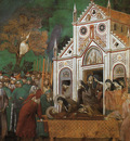 Giotto Legend of St Francis [23] St Francis Mourned by St Clare