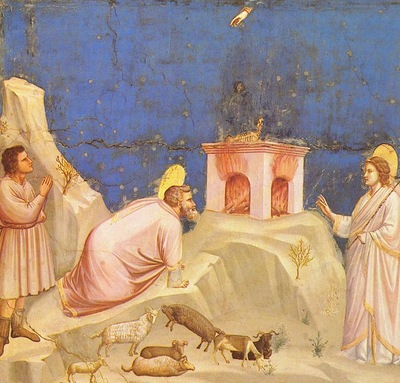 Giotto Scrovegni [04] Joachims Sacrificial Offering