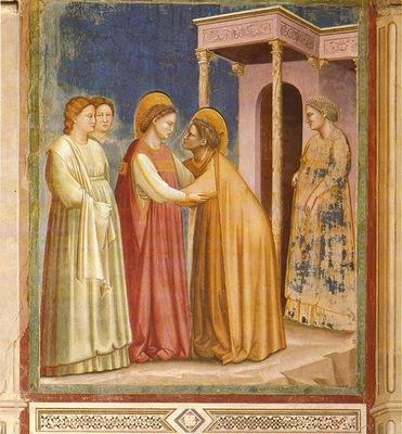 Giotto Scrovegni [16] Visitation