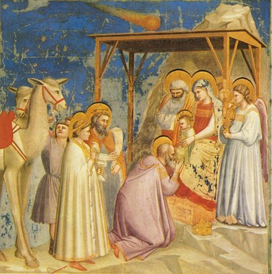 Giotto Scrovegni [18] Adoration of the Magi
